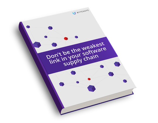 Download the e-book: Don't be the weakest link in your software supply chain